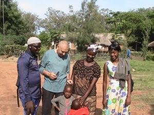 Musa, Tony, Emelia, Mwasay, Cathy