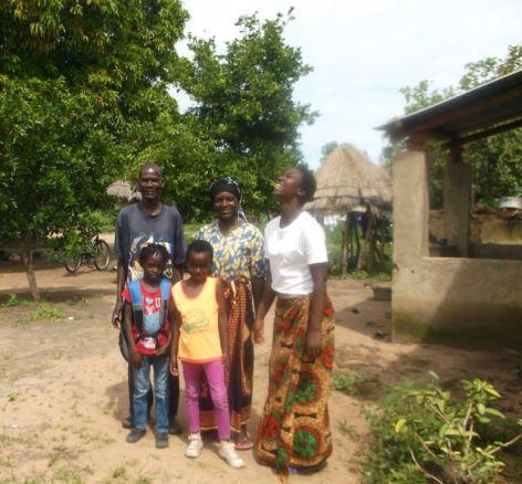Ketty's family (Alice & parents) & friend Eva